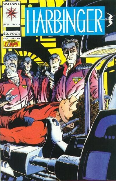 Cover for Harbinger (Acclaim / Valiant, 1992 series) #11