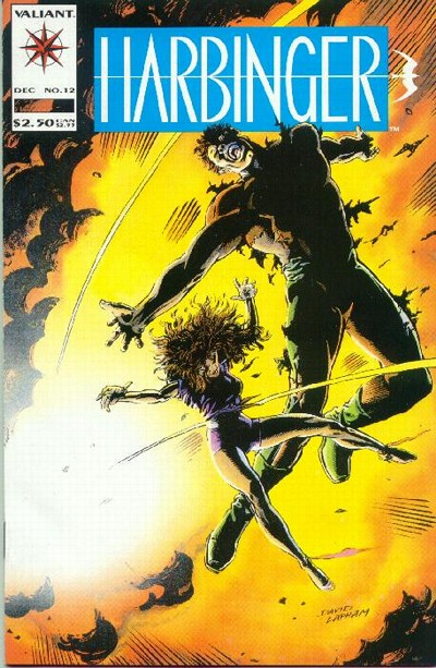 Cover for Harbinger (Acclaim / Valiant, 1992 series) #12