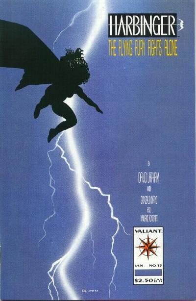 Cover for Harbinger (Acclaim / Valiant, 1992 series) #13