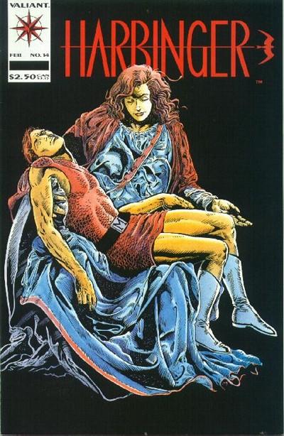 Cover for Harbinger (Acclaim / Valiant, 1992 series) #14