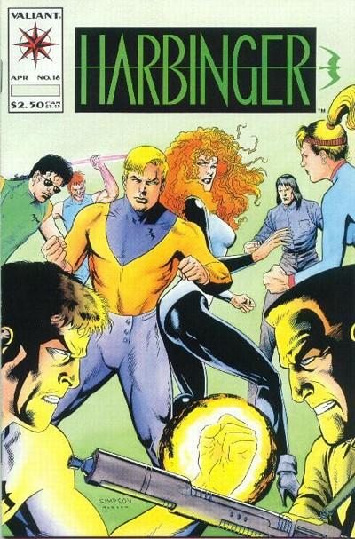 Cover for Harbinger (Acclaim / Valiant, 1992 series) #16