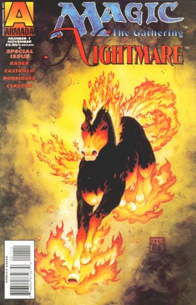 Cover for Magic: The Gathering - Nightmare (Acclaim / Valiant, 1995 series) #1