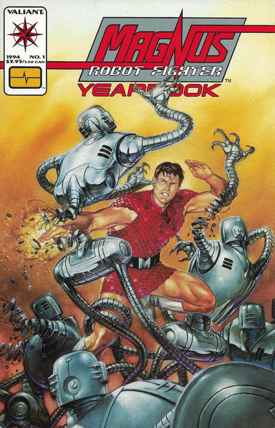 Cover for Magnus Robot Fighter Yearbook (Acclaim / Valiant, 1994 series) #1