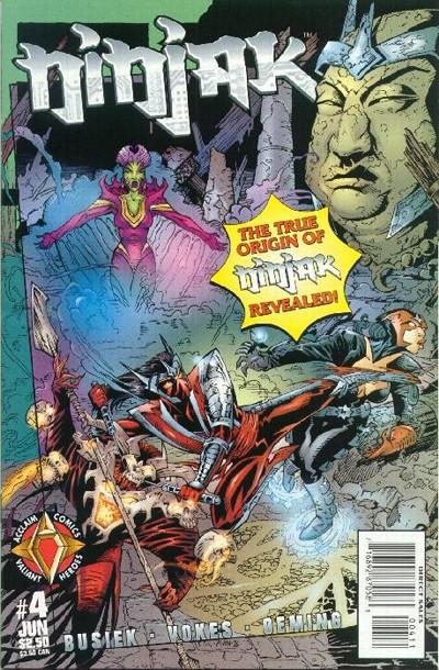 Cover for Ninjak (Acclaim / Valiant, 1997 series) #4