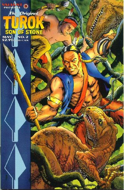 Cover for The Original Turok, Son of Stone (Acclaim / Valiant, 1995 series) #2