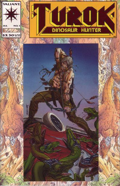GCD :: Cover :: Turok, Dinosaur Hunter #1
