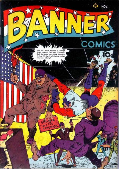 Cover for Banner Comics (Ace Magazines, 1941 series) #4