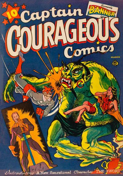 Cover for Captain Courageous Comics (Ace Magazines, 1942 series) #6