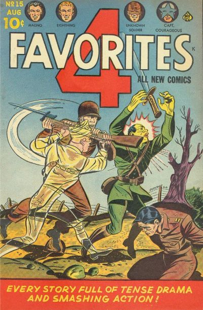 Cover for Four Favorites (Ace Magazines, 1941 series) #15