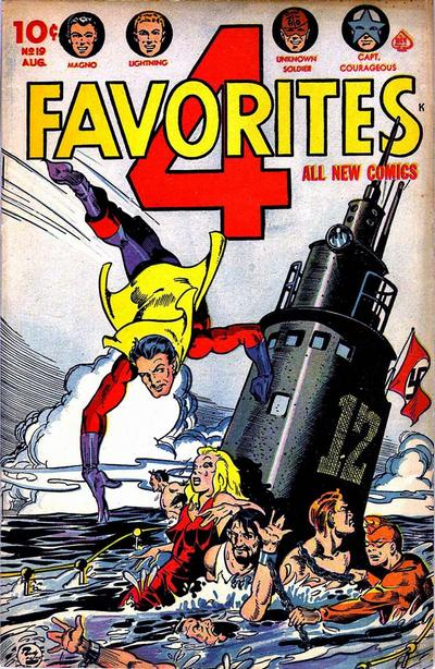 Cover for Four Favorites (Ace Magazines, 1941 series) #19