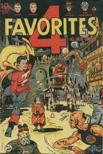 Cover for Four Favorites (Ace Magazines, 1941 series) #22