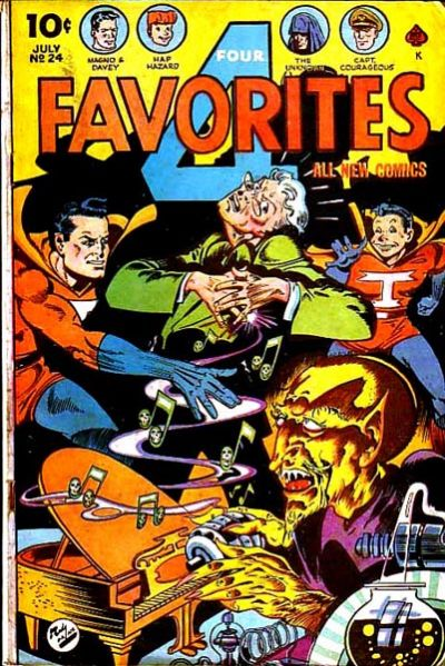Cover for Four Favorites (Ace Magazines, 1941 series) #24
