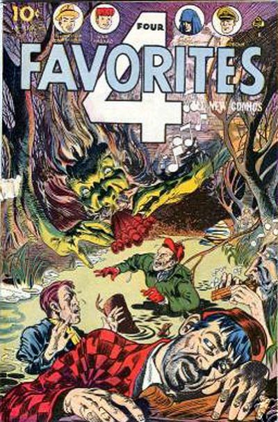 Cover for Four Favorites (Ace Magazines, 1941 series) #27
