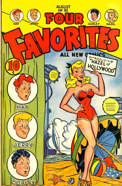 Cover for Four Favorites (Ace Magazines, 1941 series) #30