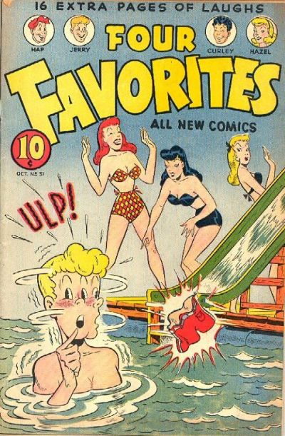 Cover for Four Favorites (Ace Magazines, 1941 series) #31