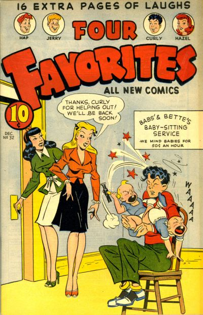 Cover for Four Favorites (Ace Magazines, 1941 series) #32