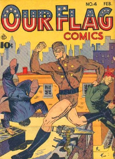Cover for Our Flag Comics (Ace Magazines, 1941 series) #4