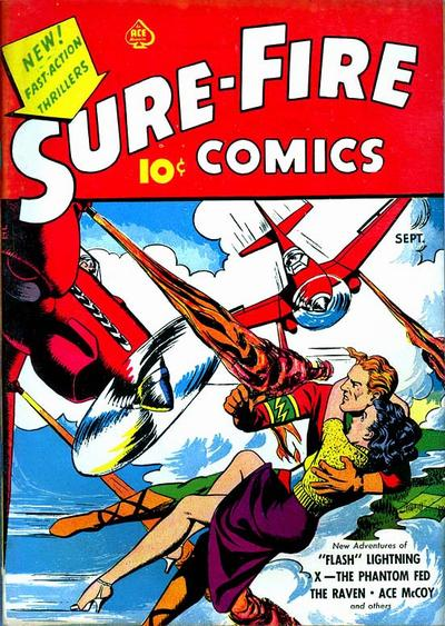 Cover for Sure-Fire Comics (Ace Magazines, 1940 series) #v1#3[a]