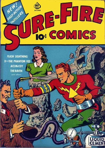 Cover for Sure-Fire Comics (Ace Magazines, 1940 series) #v1#3[b]
