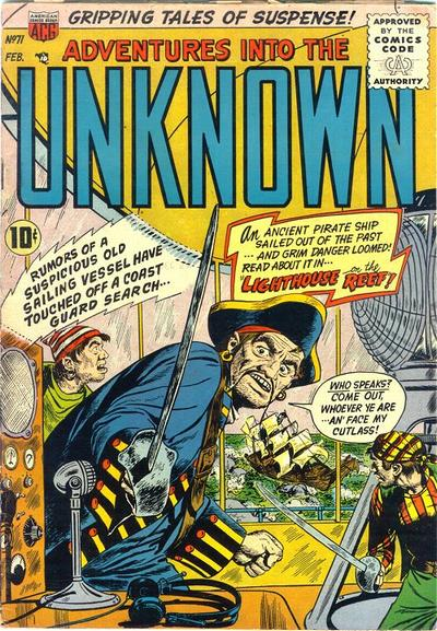 Cover for Adventures into the Unknown (American Comics Group, 1948 series) #71