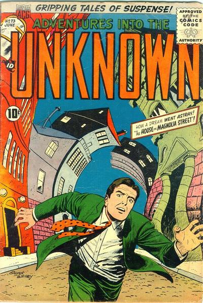Cover for Adventures into the Unknown (American Comics Group, 1948 series) #73