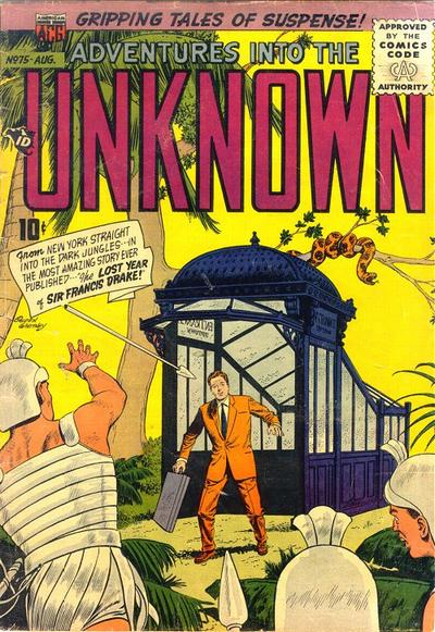 Cover for Adventures into the Unknown (American Comics Group, 1948 series) #75