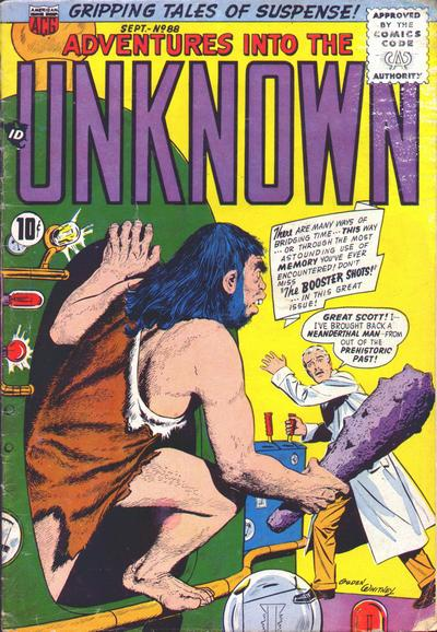 Cover for Adventures into the Unknown (American Comics Group, 1948 series) #88