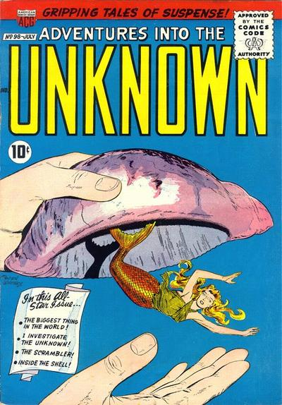 Cover for Adventures into the Unknown (American Comics Group, 1948 series) #98