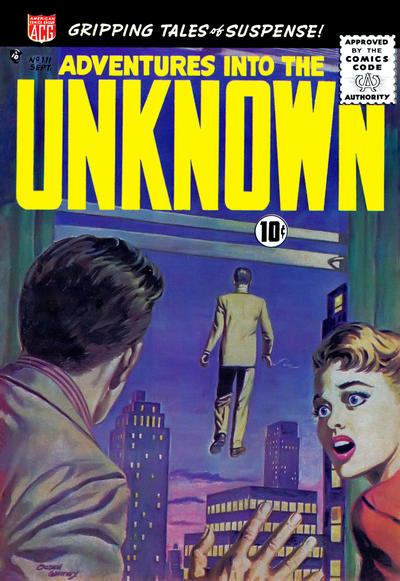 Cover for Adventures into the Unknown (American Comics Group, 1948 series) #111
