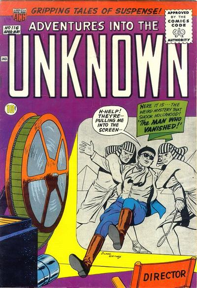 Cover for Adventures into the Unknown (American Comics Group, 1948 series) #116