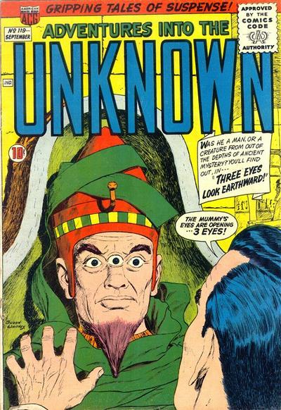 Cover for Adventures into the Unknown (American Comics Group, 1948 series) #119