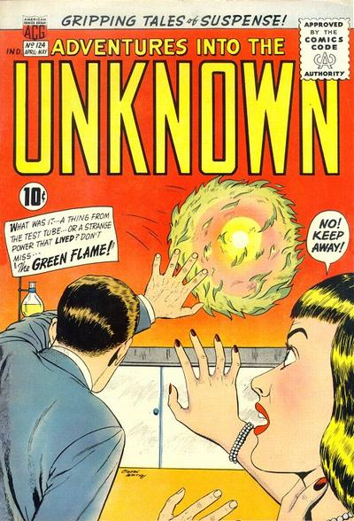 Cover for Adventures into the Unknown (American Comics Group, 1948 series) #124