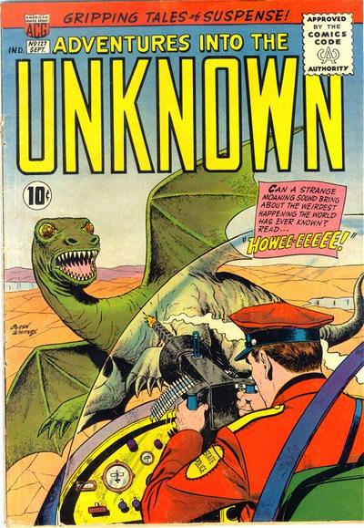 Cover for Adventures into the Unknown (American Comics Group, 1948 series) #127