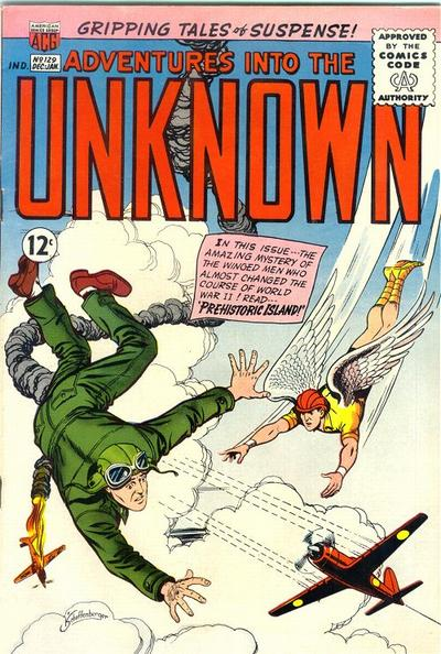 Cover for Adventures into the Unknown (American Comics Group, 1948 series) #129