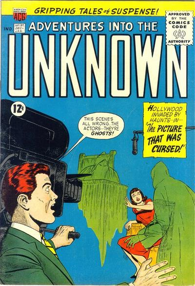Cover for Adventures into the Unknown (American Comics Group, 1948 series) #137