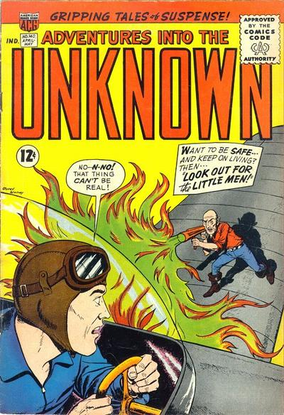 Cover for Adventures into the Unknown (American Comics Group, 1948 series) #140