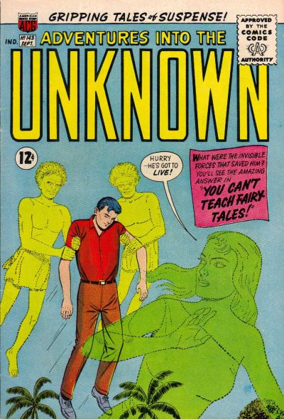 Cover for Adventures into the Unknown (American Comics Group, 1948 series) #143