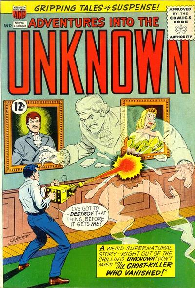 Cover for Adventures into the Unknown (American Comics Group, 1948 series) #146