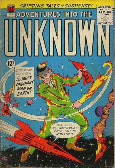 Cover for Adventures into the Unknown (American Comics Group, 1948 series) #148