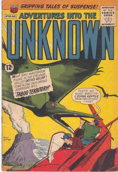 Cover for Adventures into the Unknown (American Comics Group, 1948 series) #150