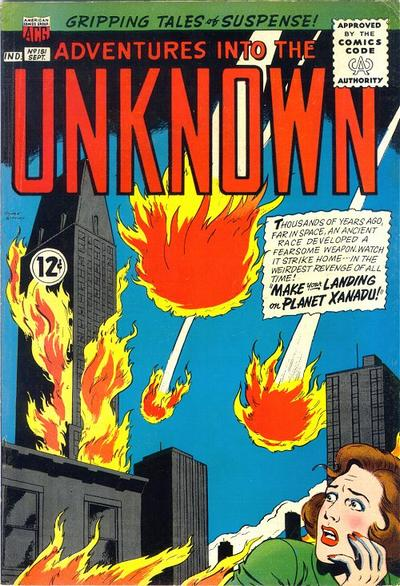 Cover for Adventures into the Unknown (American Comics Group, 1948 series) #151