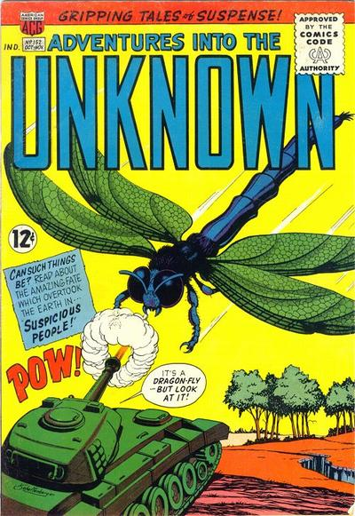 Cover for Adventures into the Unknown (American Comics Group, 1948 series) #152