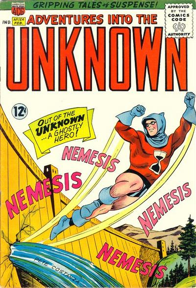 Cover for Adventures into the Unknown (American Comics Group, 1948 series) #154
