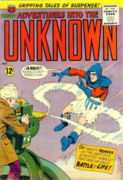 Cover for Adventures into the Unknown (American Comics Group, 1948 series) #156