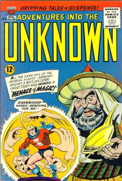 Cover for Adventures into the Unknown (American Comics Group, 1948 series) #161