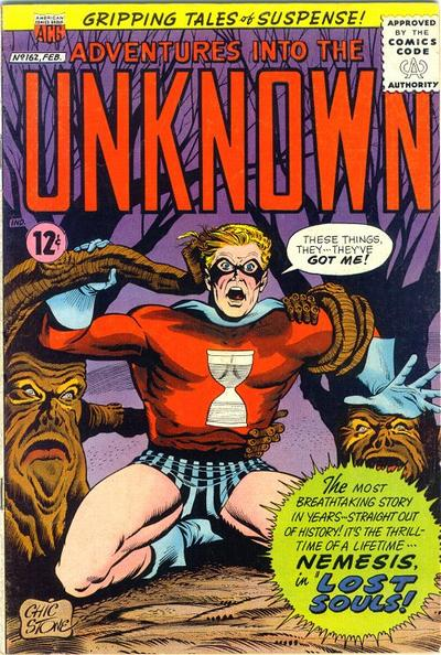 Cover for Adventures into the Unknown (American Comics Group, 1948 series) #162
