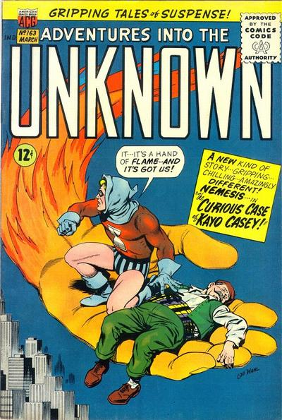 Cover for Adventures into the Unknown (American Comics Group, 1948 series) #163