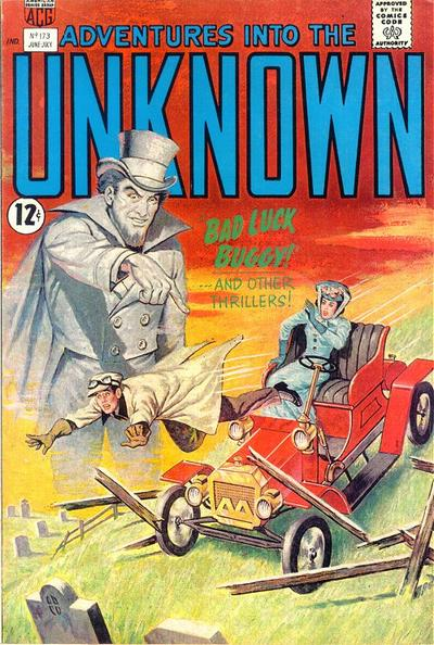 Cover for Adventures into the Unknown (American Comics Group, 1948 series) #173