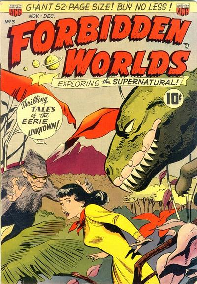 Cover for Forbidden Worlds (American Comics Group, 1951 series) #3