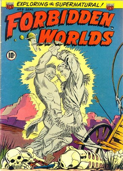 Cover for Forbidden Worlds (American Comics Group, 1951 series) #9